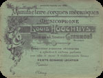 Book label of L.Hooghuys